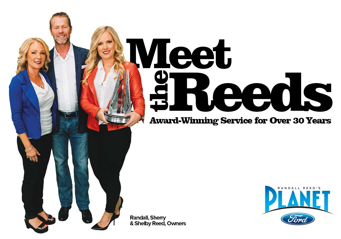 Planet Ford Spring >> Meet The Reeds