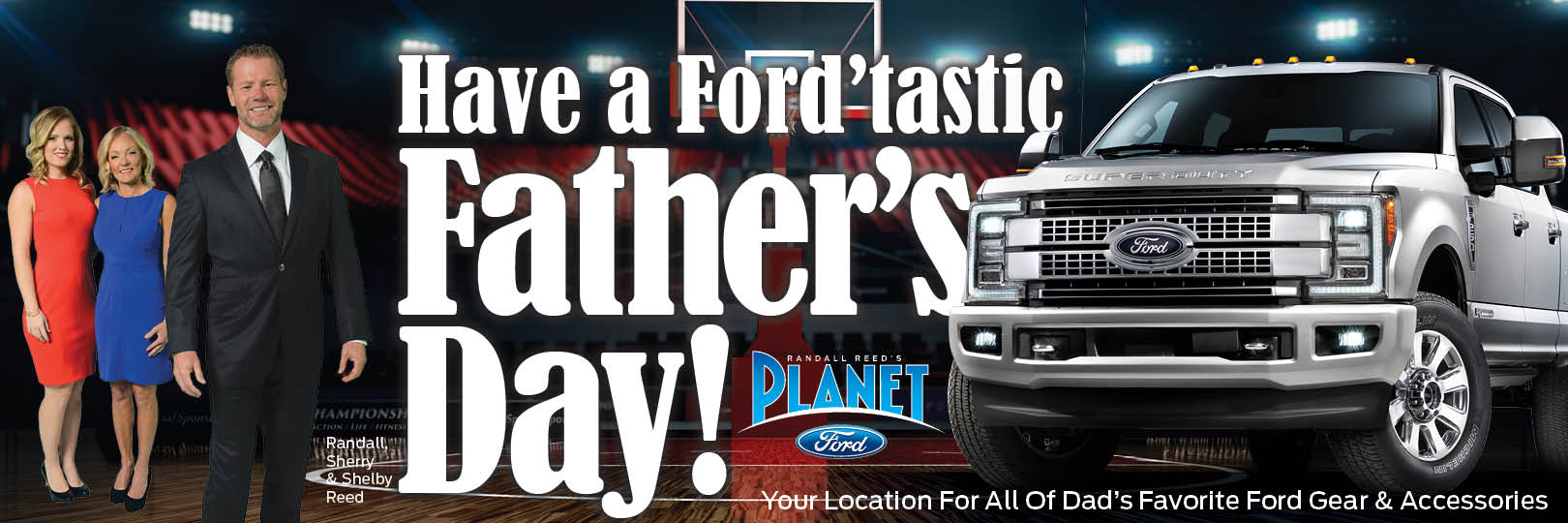 Happy Father's Day From Planet Ford