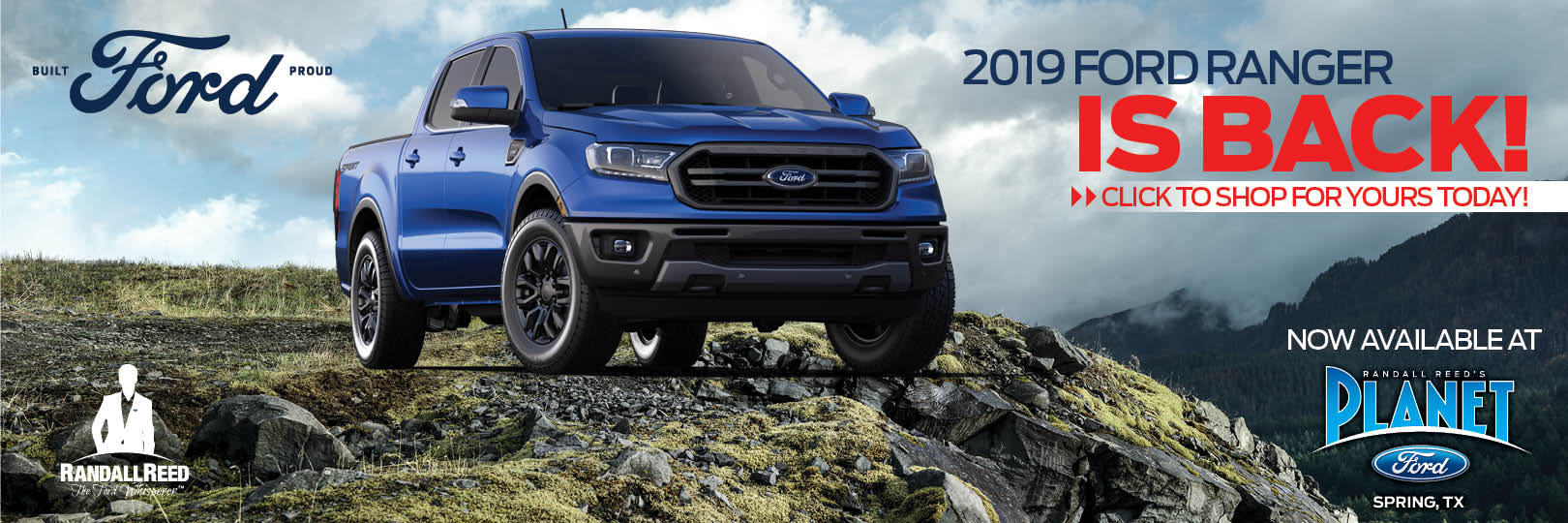 NEW 2019 FORD RANGER!